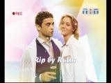 Заставка телеканала ТНТ с участием героев сериала Интерны (Варя и Глеб)