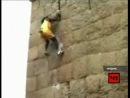 Джиоти Радж Jyothi Raj - индийский скалолаз по прозвищу Король Обезьян