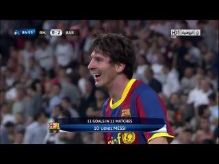Гол Месси в матче Барса-Реал