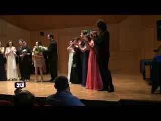 Класс Маэстры Паолы Форназари. Финальный хор из оперы Фальстаф Верди (Саджо-2011).