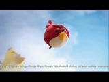 Реклама Samsung Galaxy Ace с участием Angry Birds