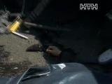 Киев, ДТП Прадо разорвало на куски