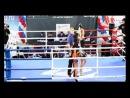 Анастасия Янькова - чемпионка России по тайскому боксу