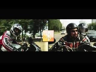 Реклама мотогарнитуры Мидланд