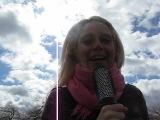 Второй вариант видеовопроса от команды КВН Сборная Блондинок Украины
