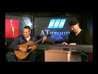 Под гитару Алексей Никитин  и Виталий Смирнов (9 район) - Интерны