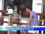 Нелли и Никита после стройки и разговора с Глебом (вечерний эфир, 25.07.2011 год.).