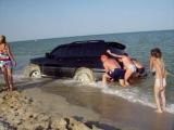 Неудачный дрифт на берегу Азовского моря
