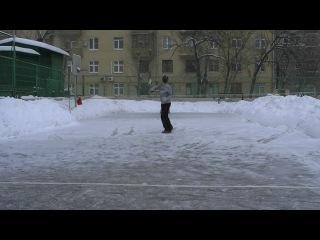 Теннис ЗИМОЙ!!!!! (с задней линии)