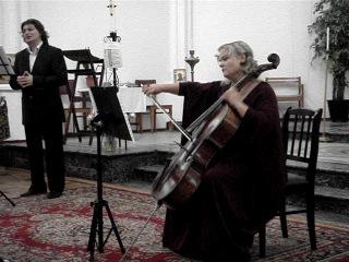 Дмитрий Гриних (баритон), Екатерина Антокольская (виолончель), Алексей Семёнов (орган)