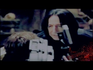 Behind the Scenes with Severus Snape aka Alan Rickman