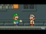 Луиджи срывается на Марио