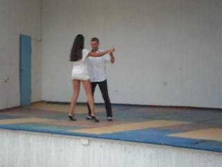 Я учусь танцевать танго
