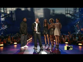 MTV Video Music Awards 2009 (Eminem - We Made You 'best Hip-Hop video' (Live)