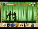 бой с тенью.бой оружия отшельника против катаны самурая