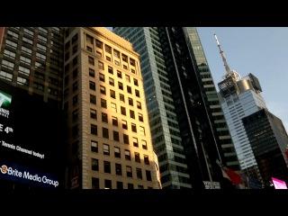 Мирон Кадыров, в Нью-Йорке Тайм Сквере