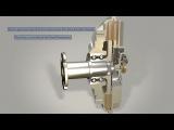 Вискомуфта привода вентилятора системы охлаждения двигателя.