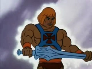 He-Man I have the POWER!