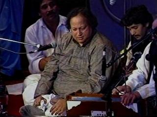 Nusrat Fateh Ali Khan. Concert in London1988 year.
