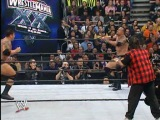WWE Evolution vs The Rock & Mick Foley Wrestlemania XX 14.03.2004