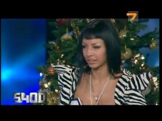 Topless-dj Milana в ток-шоу