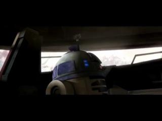 Star Wars the Clone Wars Звёздные Войны Войны Клонов 4 сезон 14 серия отрывок ри