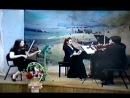В.А.Моцарт Трио №7 Kegelstatt (KV-498), I часть