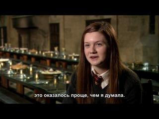 Поцелуй Гарри и Джинни: Гарри Поттер и Принц-полукровка [Eng; Rus-субтитры] [HD 720p]