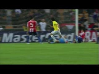 Бразилия 0:0 Парагвай  (0:2 пен.) | Обзор матча