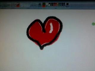как нарисовать клевое сердце