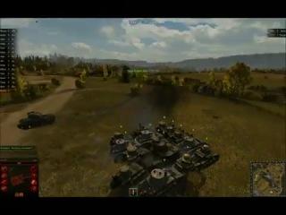 14 врагов вынесено артой одним выстрелом (Арта СУ-14)