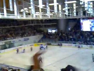 Kometa Brno - SKA Petrohrad, přesilovka 5 na 3