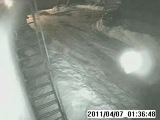 В Кунгуре Пермского Края камера видеонаблюдения зафиксировала НЛО