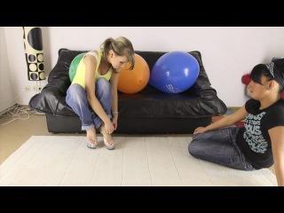 Порно большой воздушный шарик лунер