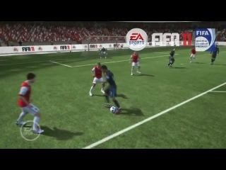 ФИФА 12 Новые финты