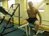 Разгибание ног (ноги) на станке для развития квадрицепса бедра