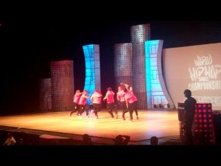 Hip Hop International 2011 USA -Rocket (Mexico) final (adults)