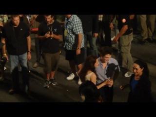 Новое видео РобСтен на съемках в Рио (ночь с 7 по 8 ноября 2010) в хорошем качестве
