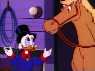 Утиные истории (DuckTales). 1 сезон. 34. Лошадкины штучки (Horse Scents)