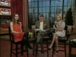 Keira knightley-live with regis and kelly 2007