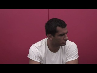 Открытая тренировка и интервью Гегарда Мусаси