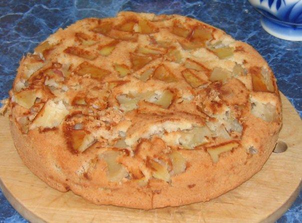шарлотка яблочная рецепт с фото
