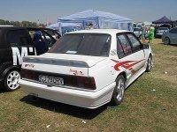 Посмотрите на фото тюнингованного Opel Ascona.  После модификации Ascona получила нержавеющую выхлопную систему...