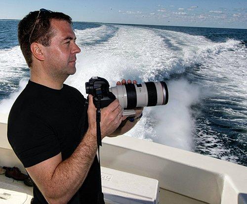 Дмитрий Медведев и фотик
