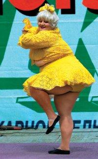 Толстая тетка фото