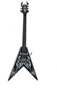 B.C Kerry King Signature V Neck Thru, KK Custom