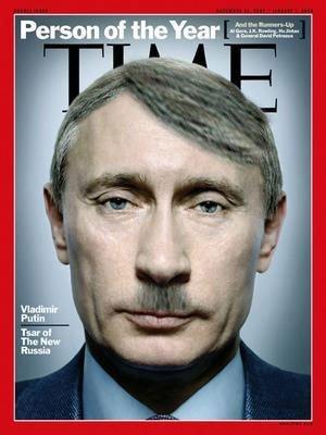 Владимир Владимирович Путин, или в каждой шутке есть доля шутки (фотоподборко)