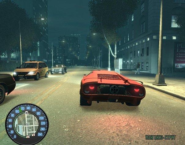 """GTA 4  """"New Speedometer """" ."""
