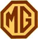 Логотип компании MG.