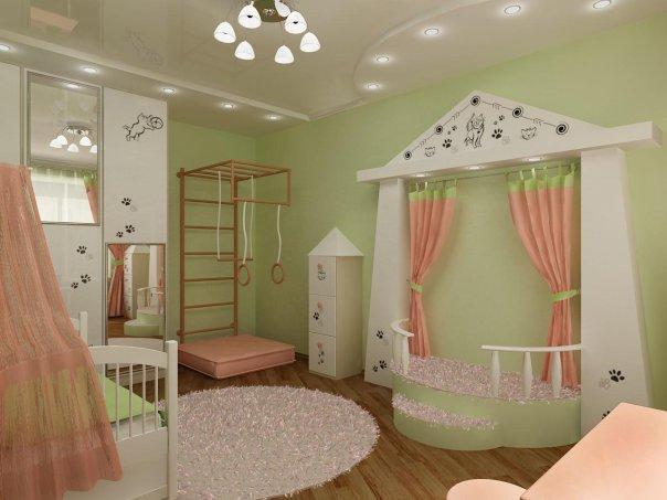 Фото детской комнаты для девочек своими руками